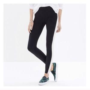 🤵 Madewell | EUC Tux black and white leggings 🤵